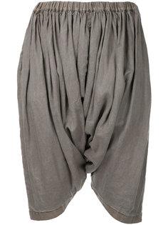 укороченные брюки с драпировкой Comme Des Garçons