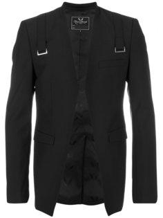 пиджак с декоративными ремешками Unconditional