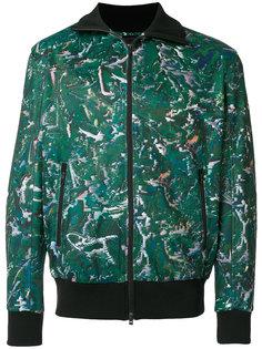 куртка-бомбер с принтом Y-3