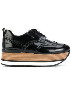 кроссовки на платформе H222 Hogan