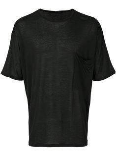 футболка с нагрудным карманом Isabel Benenato