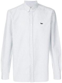 классическая полосатая рубашка Maison Kitsuné