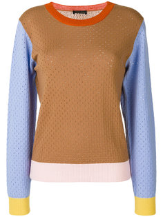 colour block jumper Stine Goya