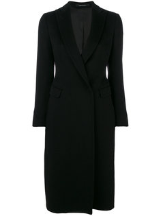 concealed button coat Tagliatore
