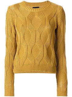 трикотажный свитер Roberto Collina