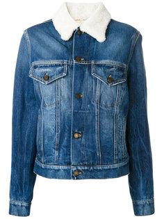 джинсовая куртка милитари  Saint Laurent