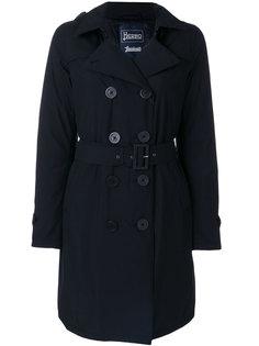 дутое приталенное пальто  Herno