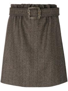 юбка с поясом  Jil Sander Navy