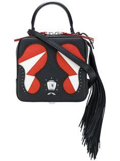сумка через плечо с прошитыми деталями The Volon