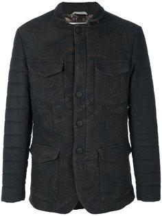 """стеганая куртка с принтом """"пейсли"""" Etro"""