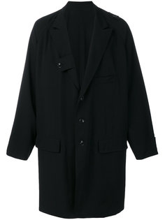 удлиненная куртка Yohji Yamamoto