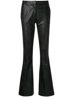slim-fit flared trousers Kiltie