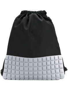 padded detail backpack  No Ka Oi