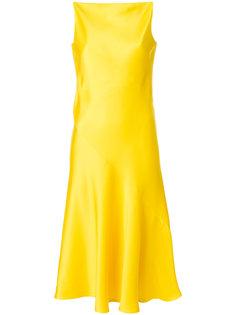 платье с V-образным вырезом на спине Calvin Klein