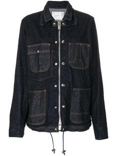 джинсовая куртка-рубашка  Sacai