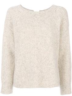 свитер в рубчик с круглым вырезом  Humanoid