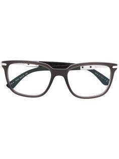square shaped glasses Bulgari