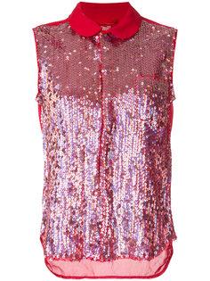 приталенная блузка с пайетками Comme Des Garçons
