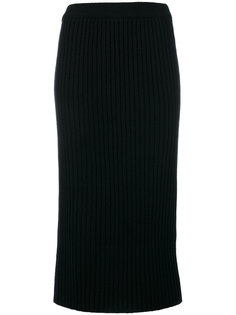 ribbed knit skirt Alyki
