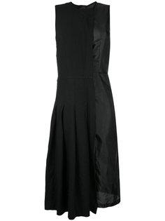 расклешенное платье с плиссировкой Comme Des Garçons
