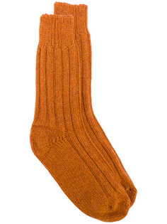 ribbed knit socks Alyki