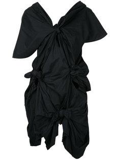 платье шифт с узлом Comme Des Garçons
