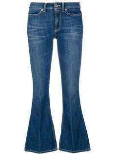 укороченные расклешенные джинсы Dondup
