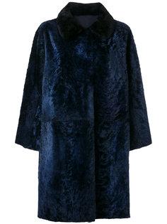 пальто с мехом  Sofie Dhoore