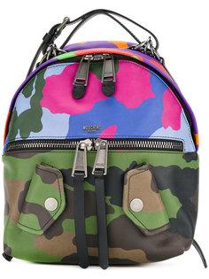 камуфляжный рюкзак Biker Moschino
