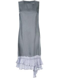 платье в горох с оборками Comme Des Garçons