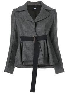 пиджак с поясом  Jil Sander Navy