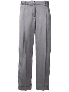 укороченные брюки  Jil Sander Navy