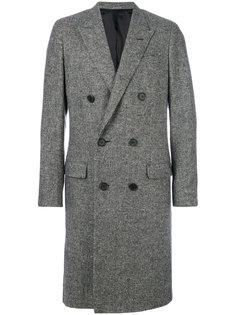 классическое двубортное пальто  Lanvin