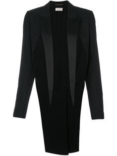 стилизованный пиджак-фрак Saint Laurent