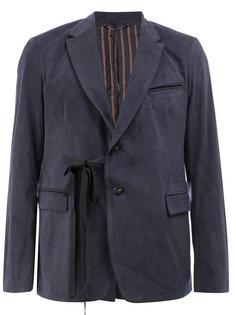 двубортный пиджак Maison Mihara Yasuhiro