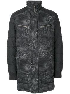 пуховое пальто с вышивкой Etro