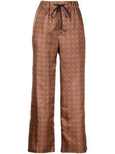 брюки с мозаичным принтом  Astraet