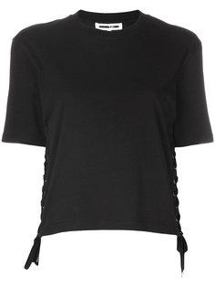 футболка с люверсами  McQ Alexander McQueen
