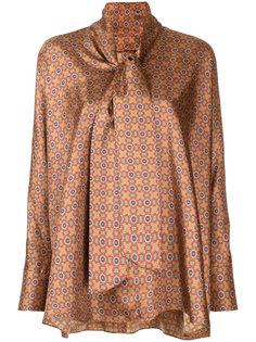 блузка с мозаичным принтом Astraet