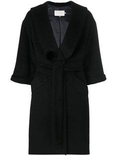 пальто с поясом LAutre Chose
