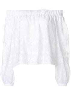 блузка с открытыми плечами Vita Kin