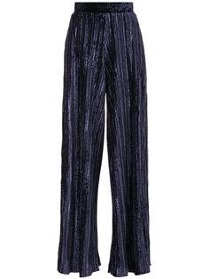 плиссированные брюки-палаццо  Aviù