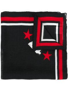 шарф с принтом 17 Givenchy