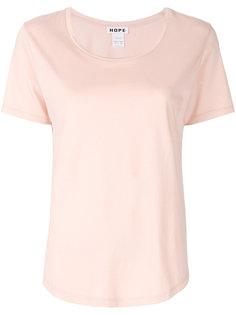 футболка с круглым вырезом  Hope