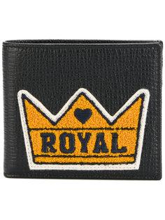 кошелек с заплаткой Royal Dolce & Gabbana