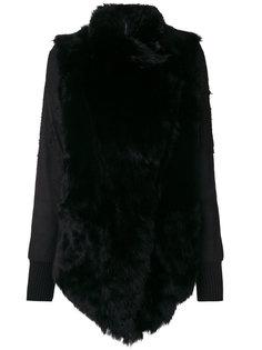 куртка с контрастными рукавами  Giorgio Brato