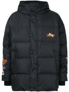 dragon embroidered padded coat Doublet