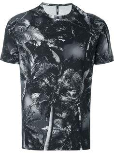 футболка с принтом пальм Versus