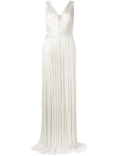 pleated gown Maria Lucia Hohan