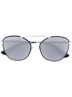 round aviator sunglasses Prada Eyewear